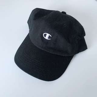Champion unisex black cap