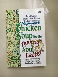 Buku chicken soup for teenage soul letters