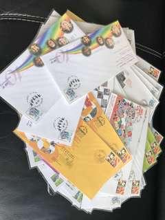 郵局遷址、開幕封,郵展封及各種紀念封一大堆(72個)