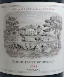 Chateau Lafite 750ML 2014
