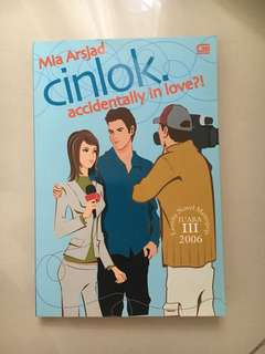 Buku novel metropop cinlok