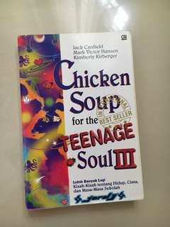 Buku chicken soup for teenage soul 3