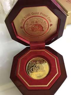 Tiger Gold Coin (Gold 999 series) - limited edition