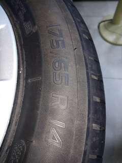 Honda brio tires