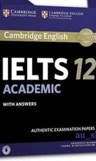 LATEST IELTS Books 12 (I have books 1-12) ACADEMIC