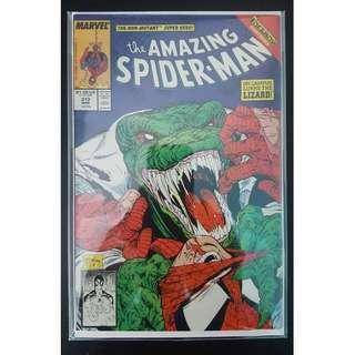Amazing Spider-Man #313 (1989, 1st Series) Todd McFarlane's Awesomeness! Vs The Lizard!