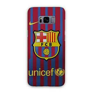 FC Barcelona Samsung Galaxy S8 Plus Custom Hard Case