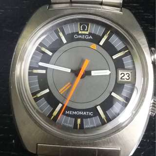 omega memomatic alarm watch(SOLD)