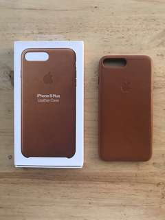 Apple Leather Case for iPhone 7 Plus or 8 Plus