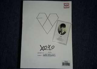 exo xoxo album with pc