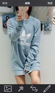 🚚 Adidas男版M號大學T