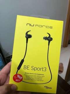 運動藍芽耳機 nu force be sport3