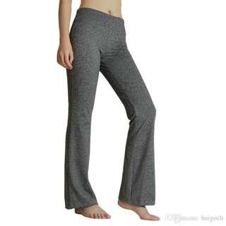 High waisted bootcut yoga pants