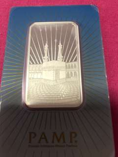 PAMP Suisse 1oz Silver Bar