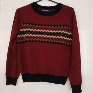 Princess Highway burgundyknitted  jumper sweater