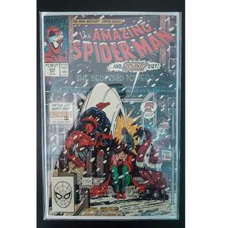 Amazing Spider-Man #314 (1989, 1st Series) Todd McFarlane's Awesomeness! Spidey's Christmas Special!