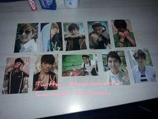 Super Junior 4집 Photocards