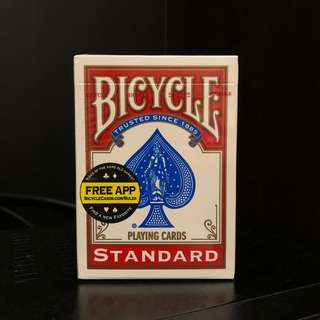 Bicycle Standard Playing Cards (Red)