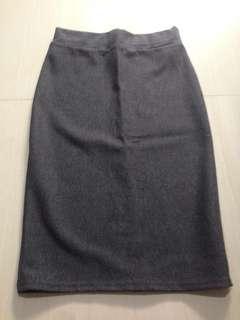 Preloved gray skirt