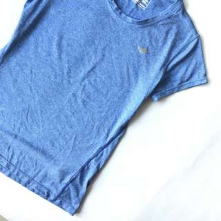 New Balance Blue Running Top T Shirt