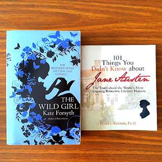 2 for $10: The Wild Girl; 101 Things You Didn't Know About Jane Austen