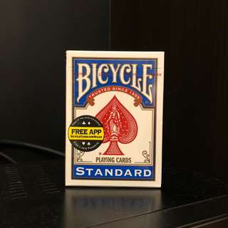 Bicycle Standard Playing Cards (Blue)