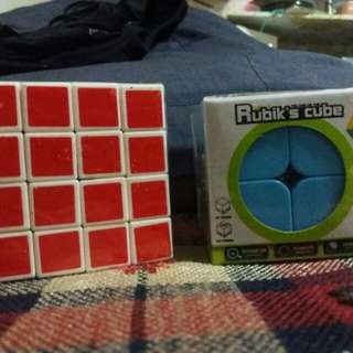 2x2x2 and 4x4x4 Rubix Cube (Sale)
