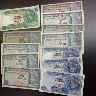Malaysia Old Notes