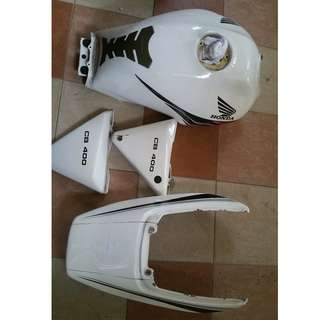 Used original super 4 version s tank, coverset & seat for cheap sale