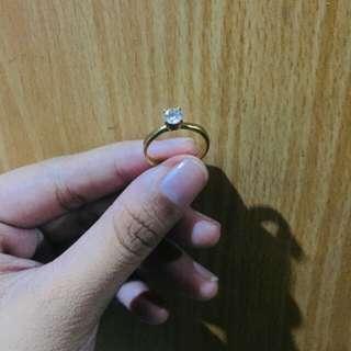 14 karat engagement ring