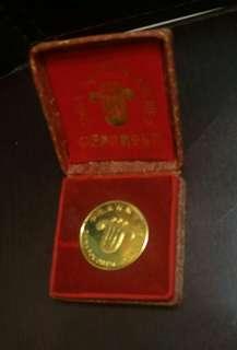 中國南方航空鍍金纪念金幣