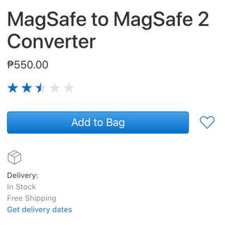 SEALED: MagSafe to MagSafe 2 Converter