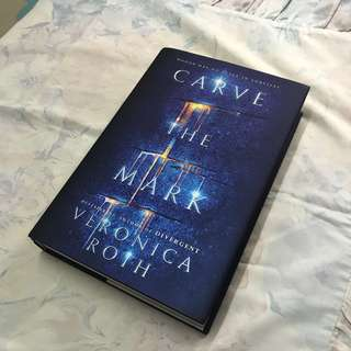 hardcover carve the mark by veronica roth