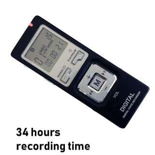Voice Recorder錄音筆 dictaphone digital voice recorder數碼錄音機 mp3 player