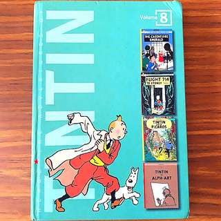 The Adventures of Tintin (Volume 8)