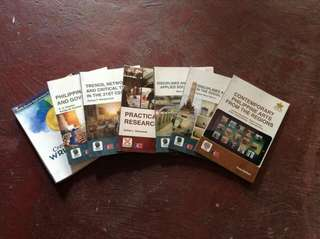 Senior High School (SHS) HUMSS Books (SOLD AS A SET) || Selling for a Friend