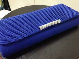 Royal Blue Formal Pouch