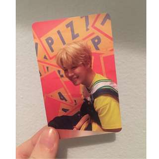 BTS Jimin Love Yourself Official Photocard