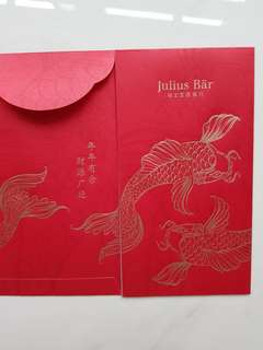 Julius bar red packet
