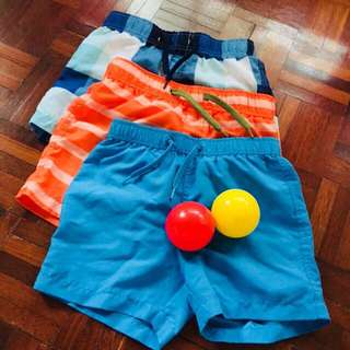 3pc Beach Shorts 4-5Y