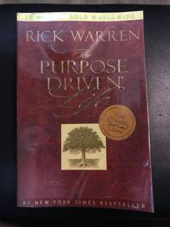 """The Purpose Driven Life"" (Christian Book)"