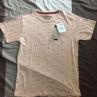 Pull & Bear Pink Shirt