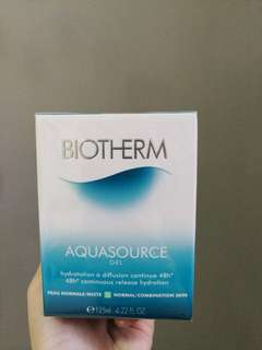 Biotherm Aquasource Gel 125ML