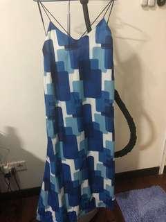 Thousand island blue dress #ramadan50