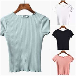 Pastel Colours Knitted Top
