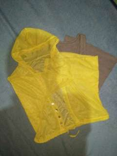 Sheer See through pull over & racerback