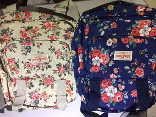 Authentic Cath Kidston Back Pack and Hand Bag