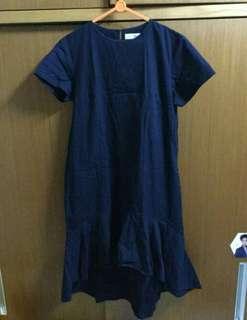 Cotton ink Navy Dress