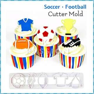 ⚽️ SOCCER • FOOTBALL CUTTER MOLD TOOL [Jersey • Ball • Shirt • Trophy • Shoes]