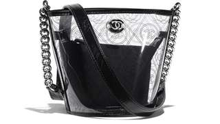 (PO) Chanel PVC Bucket Bag